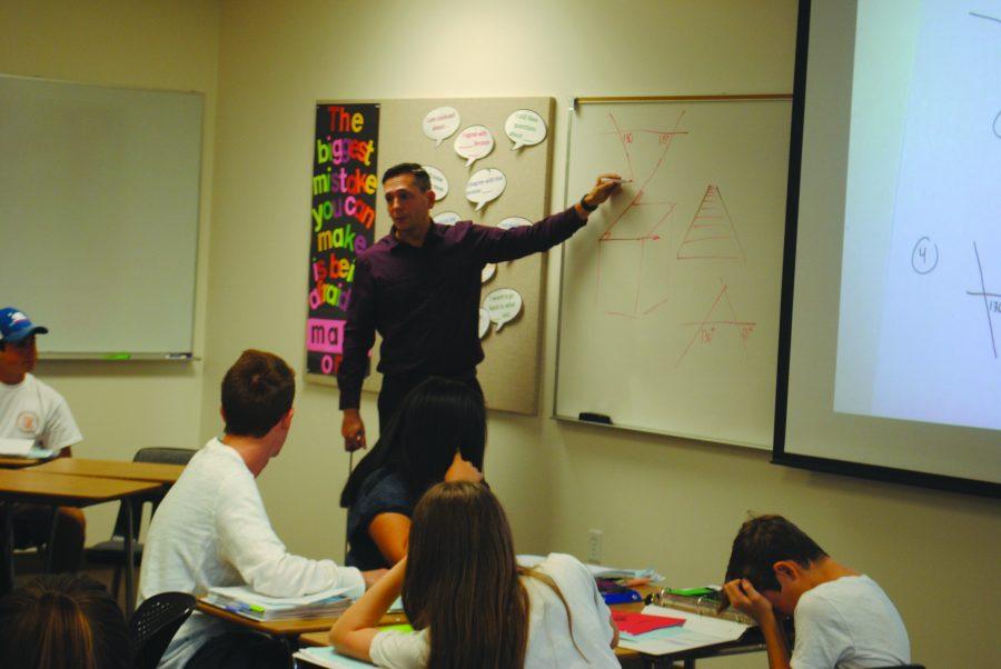 Lieberman teaches Galvans classes