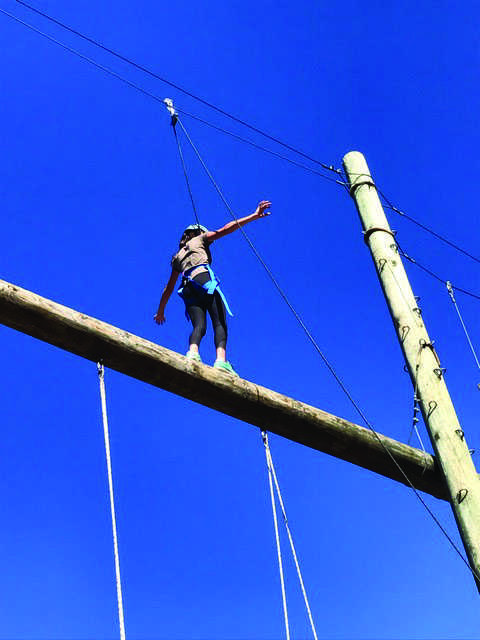 A+student+walks+the+high+ropes+challenge+in+El+Capitan+Canyon.+Credit%3A+Emma+Limor+21+%2F+SPECTRUM