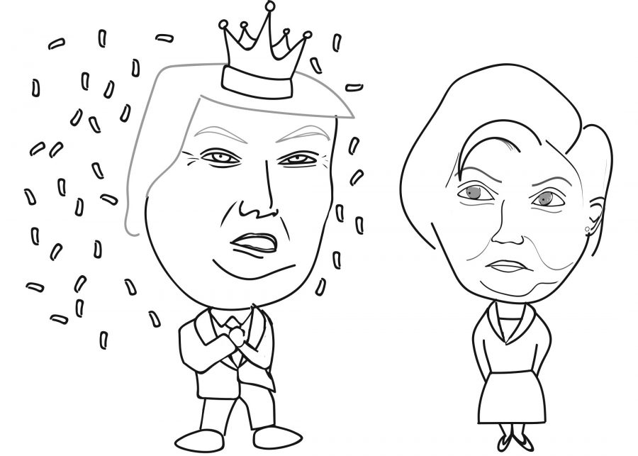 Trump+is+victorious+in+crown+surrounded+by+confetti.+Credit%3A+Joanna+Im+20%2FSPECTRUM