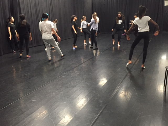 Guest choreographer visits