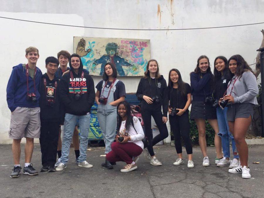 Photographic+students+visit+Melrose+Avenue