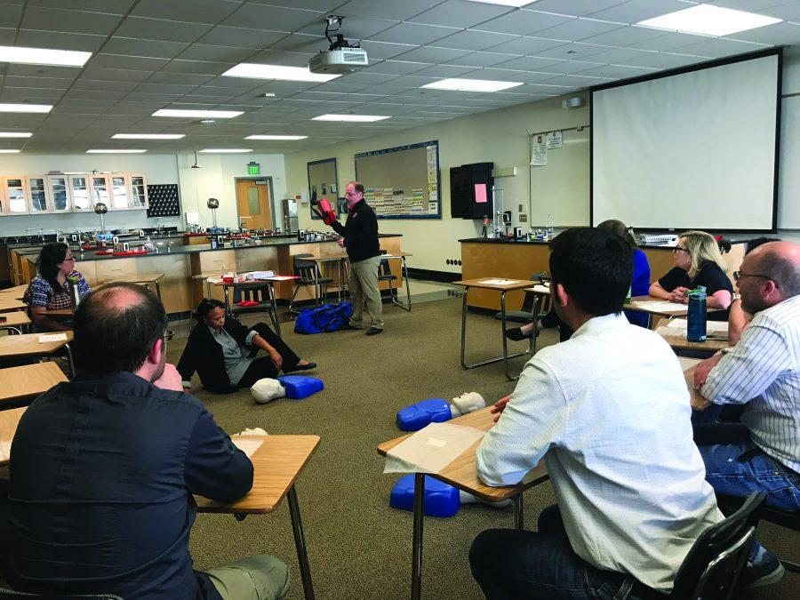 Science+department+undergoes+CPR+training