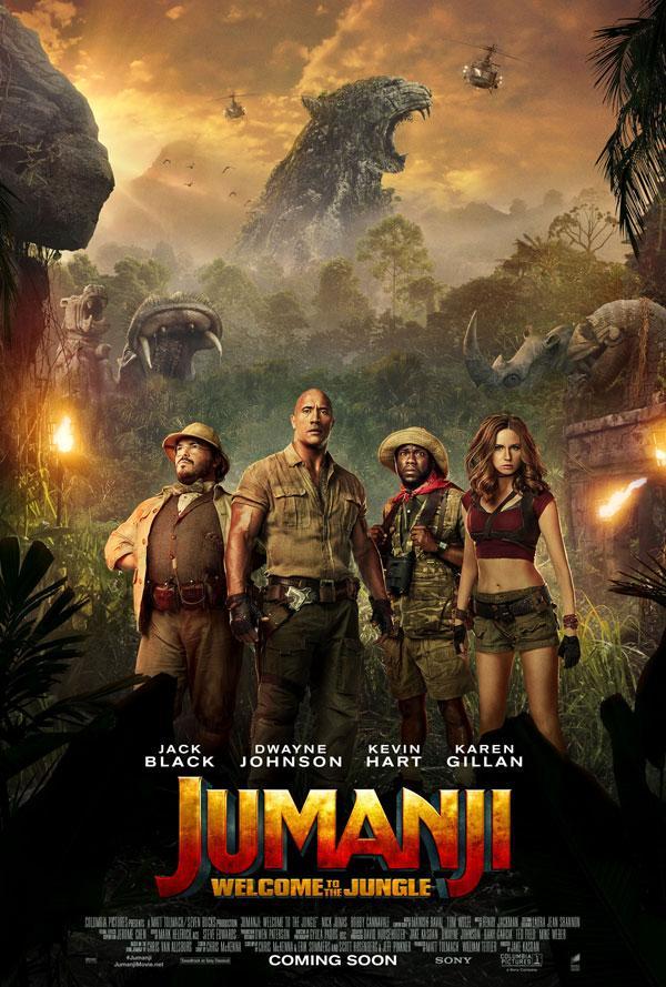 Jumanji gives audiences a roaring time