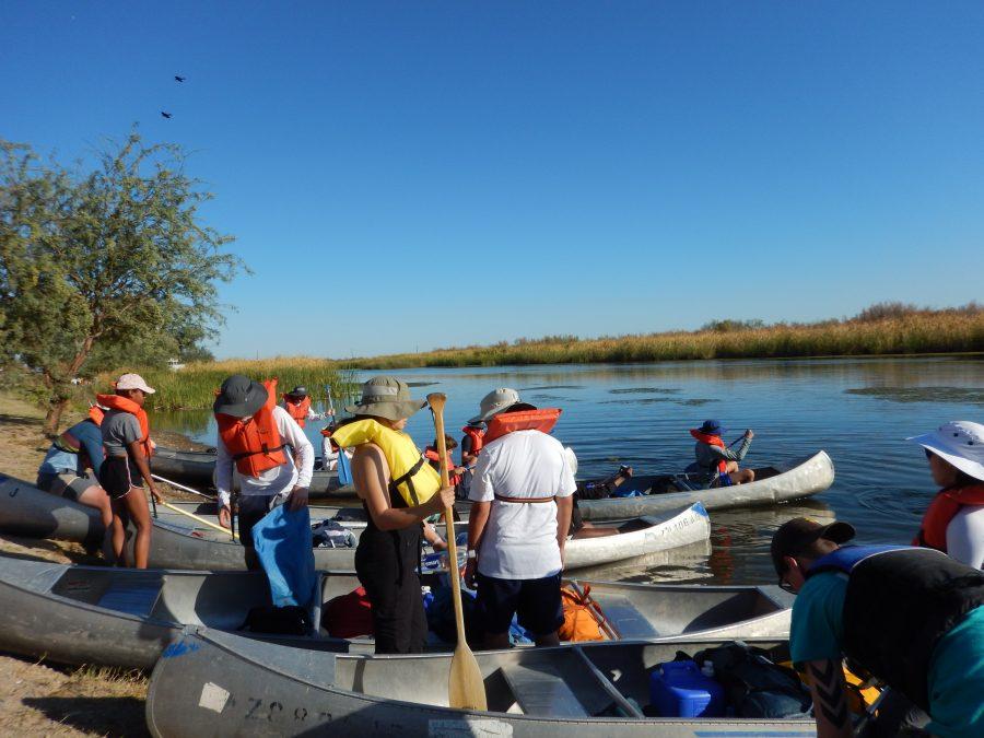 Layla Payman (23) documenting the Lower River Retreat (Digital)