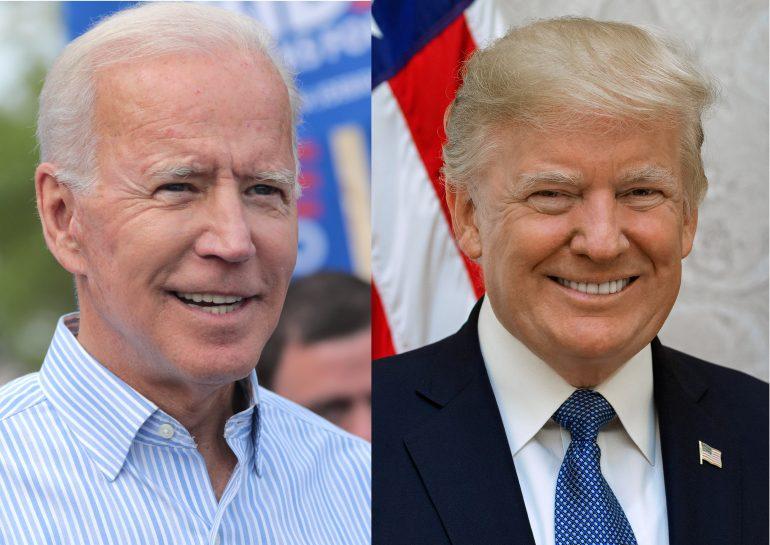 2020 Presidential Candidates, Joesph R. Biden, Jr. and Donald. J. Trump